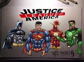 Justice League of America by ArtOfTDJ