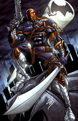 Deathstroke by ArtOfTDJ