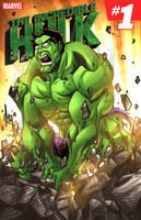 The Incredible Hulk by ArtOfTDJ
