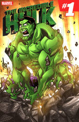 The Incredible Hulk by ArtOfTDJ