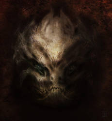 Daemon Face by Zarem