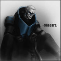 Human!Garrus by CocaineJia