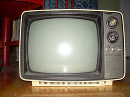 old tv by somniumstock