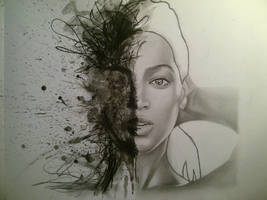 Beyonce by clvire