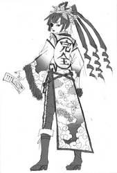Bandit Queen Eun Hee Sketch by wrixel