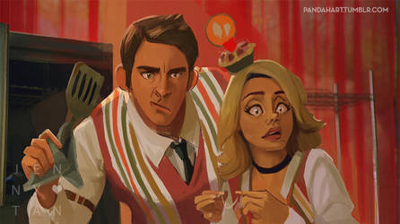 Dailies / Character study / Pushing daisies #001 by jennytan