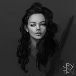 Sketch of Marina Nery by jennytan