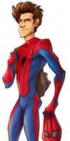 Spider-man by aerettberg