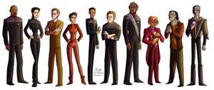 Star Trek: DS9 by aerettberg
