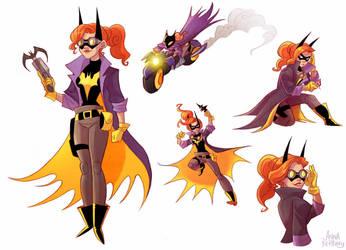 Batgirl Redesign by aerettberg