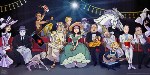 Oscar Party by aerettberg