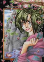 Jakotsu at Hakureizan by RidaChan