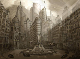 Cityscape concept by chvacher