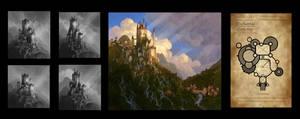 Enchanted design/concept art/art direction by chvacher