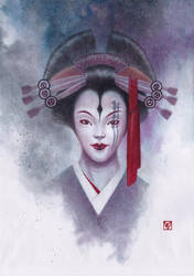 Kabuki - The White Widow by chvacher