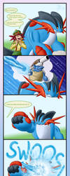 Mega swampert can do WHAT by Weirda-s-M-art