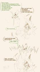 Random sketchy comic Tank and Wei by Weirda-s-M-art