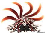 Naruto 6 Tails Kyuubi by jehanaruto