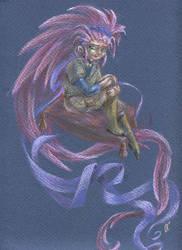 Tenchi Muyo: Washu by GoblinQueeen