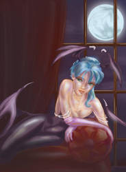 Morrigan: Queen of the Night by GoblinQueeen
