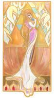 Princess Zelda Nouveau by GoblinQueeen