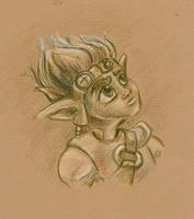 Jak Portrait by GoblinQueeen