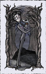 Companions, Corpse Bride 3of4 by GoblinQueeen