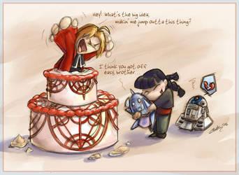 Happy FMA Birthday by GoblinQueeen