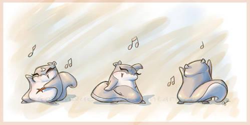 Dance Momo, Dance by GoblinQueeen