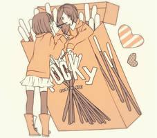 Take my POCKY by cherrysoff
