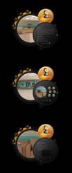 Black Gold Design Studio by riyaz7cp