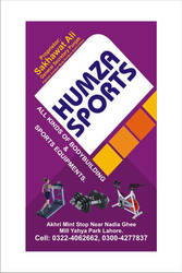 Hamza Sports - Visiting Card by cmzaib