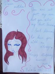 Happy birthday mom... by MissSerbianJelena