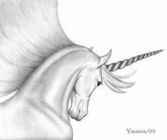 Obligatory Unicorn by yazatas