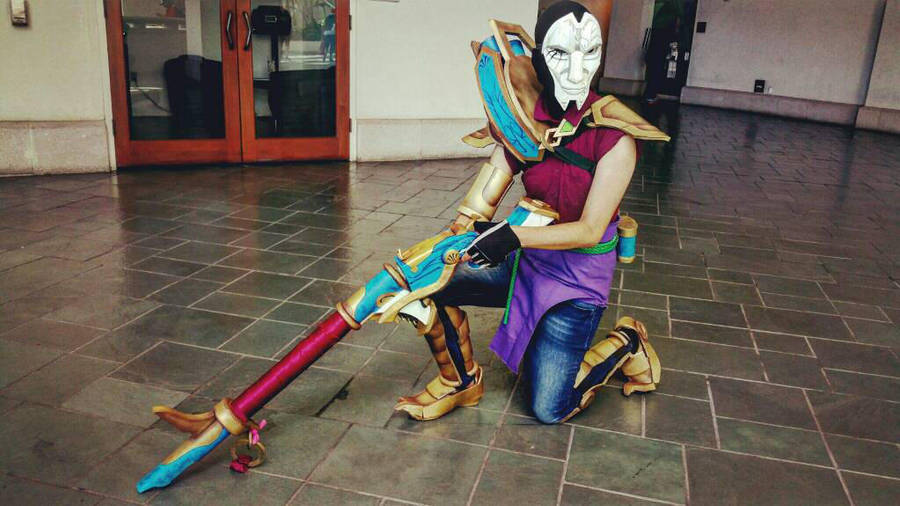 Jhin Cosplay From League Of Legends By Treycarter On Deviantart