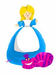 Alice in Wonderland by PennyDiamond