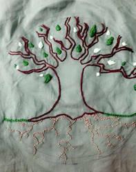 WIP Celtic Tree of Life by PennyDiamond
