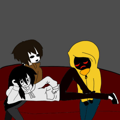 Masky Hoodie And Jeff From Creepypasta By Killer Chip On Deviantart