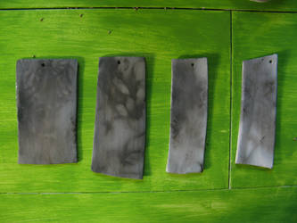 Raku test plates by taika-kim