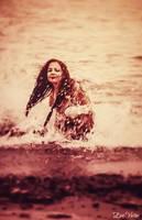 Vintage Mermaid by EveVictus