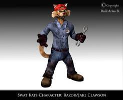 Razor Mechanic Clothes by Xanatos4