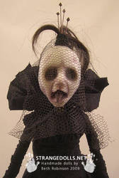 Unexpected Attendee 2 closeup by strangedolls