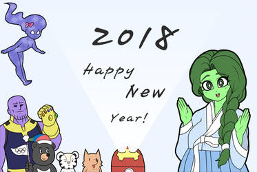 Happy New Year! by franschesco