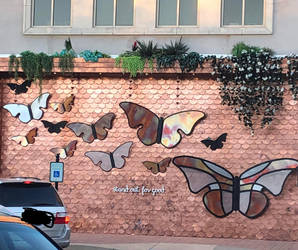Stand out for good Butterflies by Creativa-Artly01