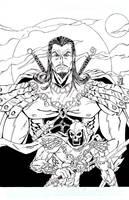 Keldor and Skeletor by JoeManzella