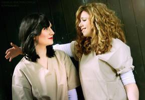 Nicky Nichols and Lorna Morello (OITNB Cosplays) by humpasauruscosplay