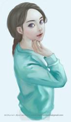 Girl 1 by mikurei26
