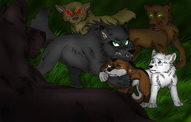 Theme 4: DARK by Firewolf-Anime