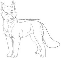 Female Wolf Lines by Firewolf-Anime