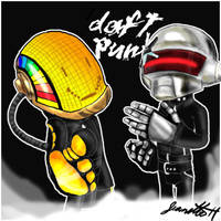 Daft Punk by QTStartheHedgehog